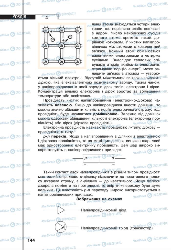 Підручники Фізика 8 клас сторінка 144