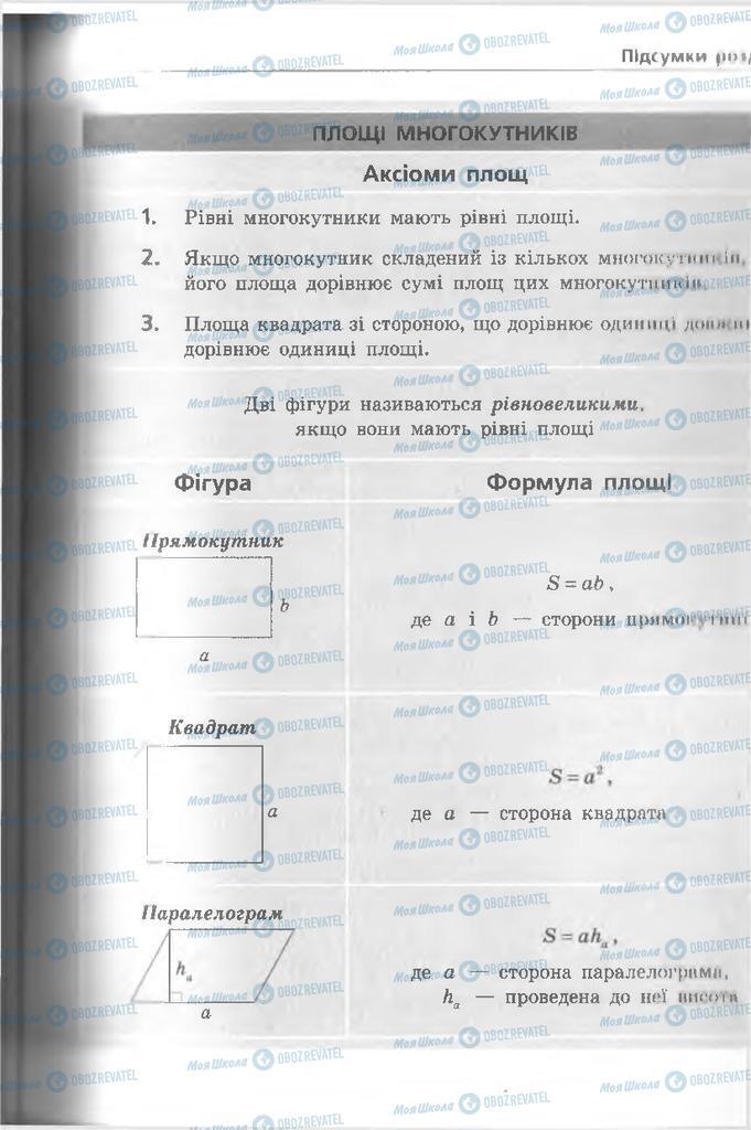 Підручники Геометрія 8 клас сторінка 195