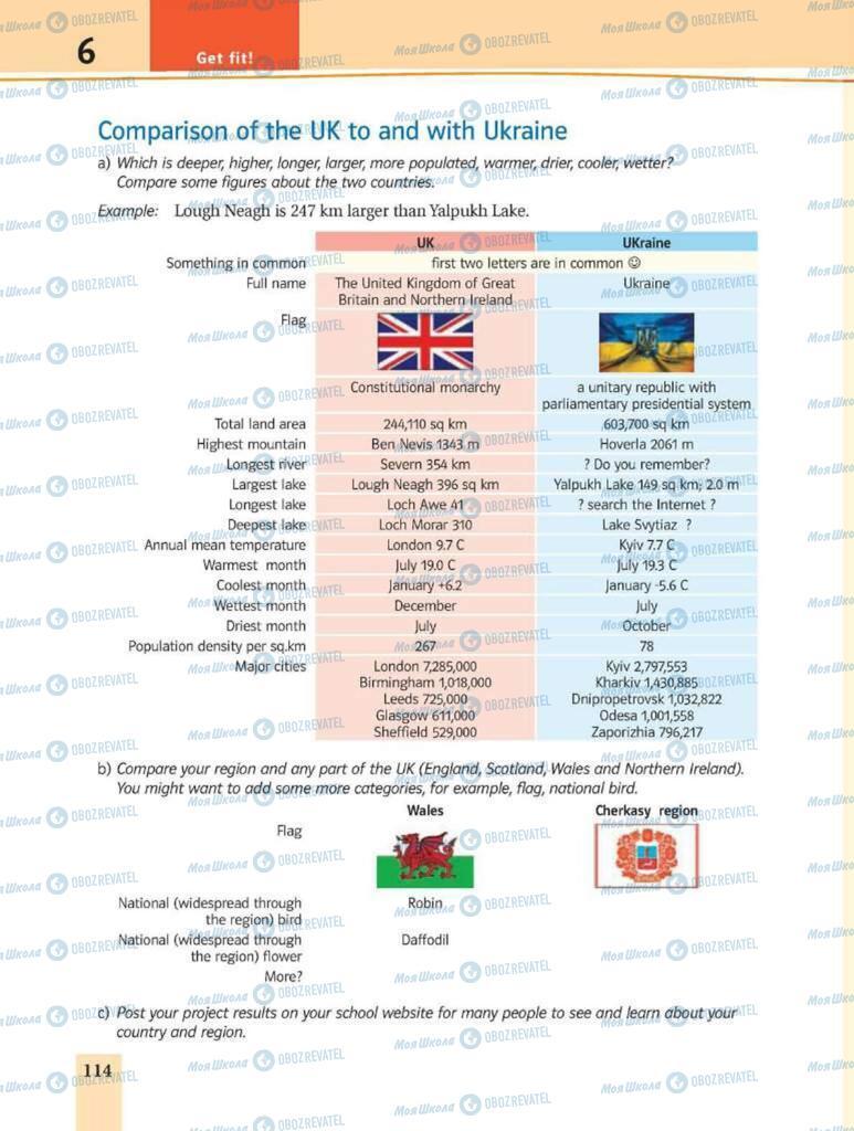 Учебники Английский язык 8 класс страница 114