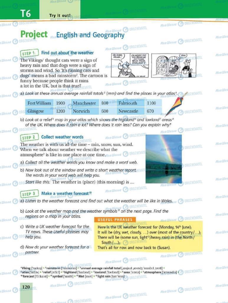 Учебники Английский язык 8 класс страница 120
