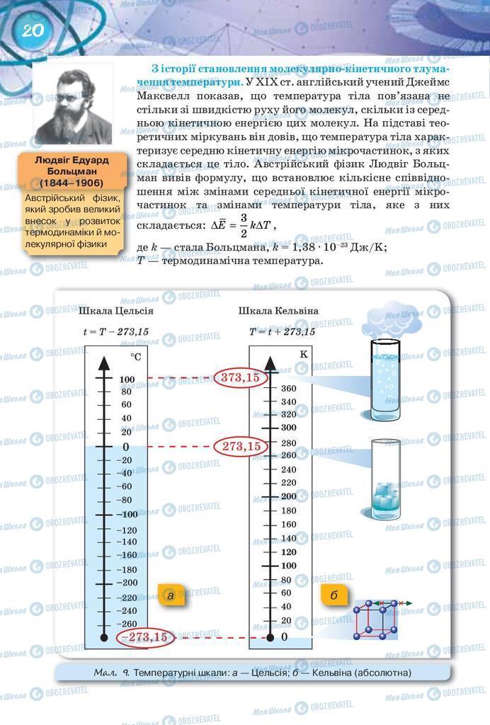 Підручники Фізика 8 клас сторінка 20