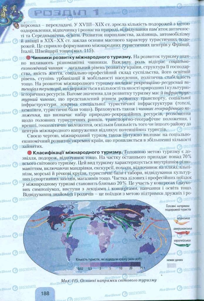 Учебники География 10 класс страница 188