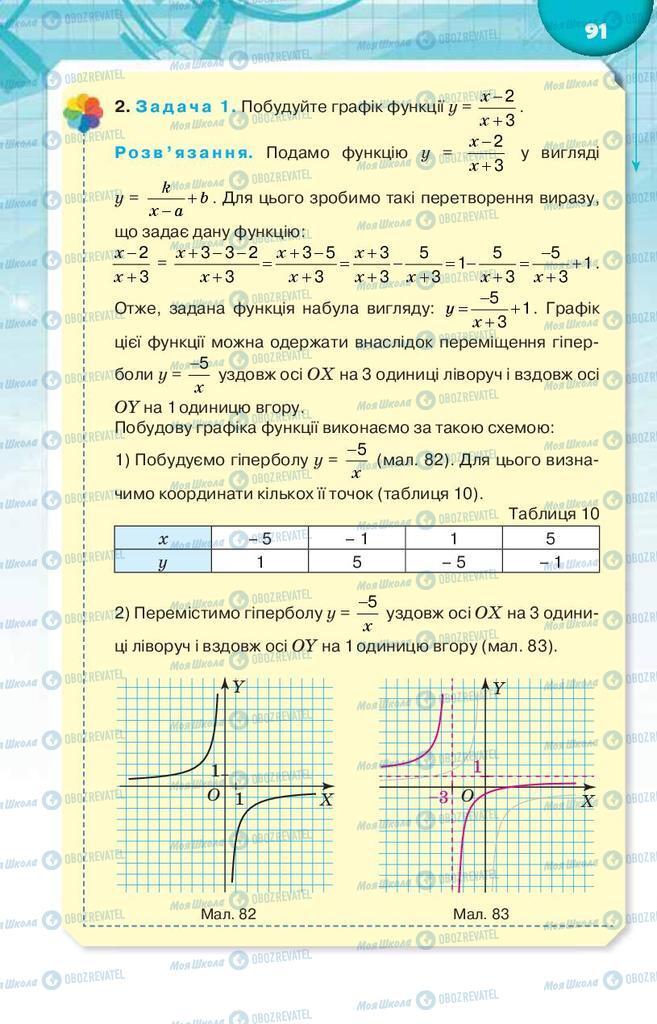 Учебники Алгебра 9 класс страница 91