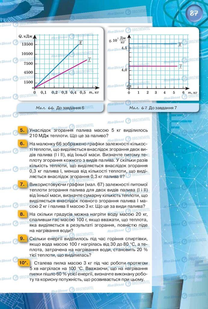 Учебники Физика 8 класс страница 87