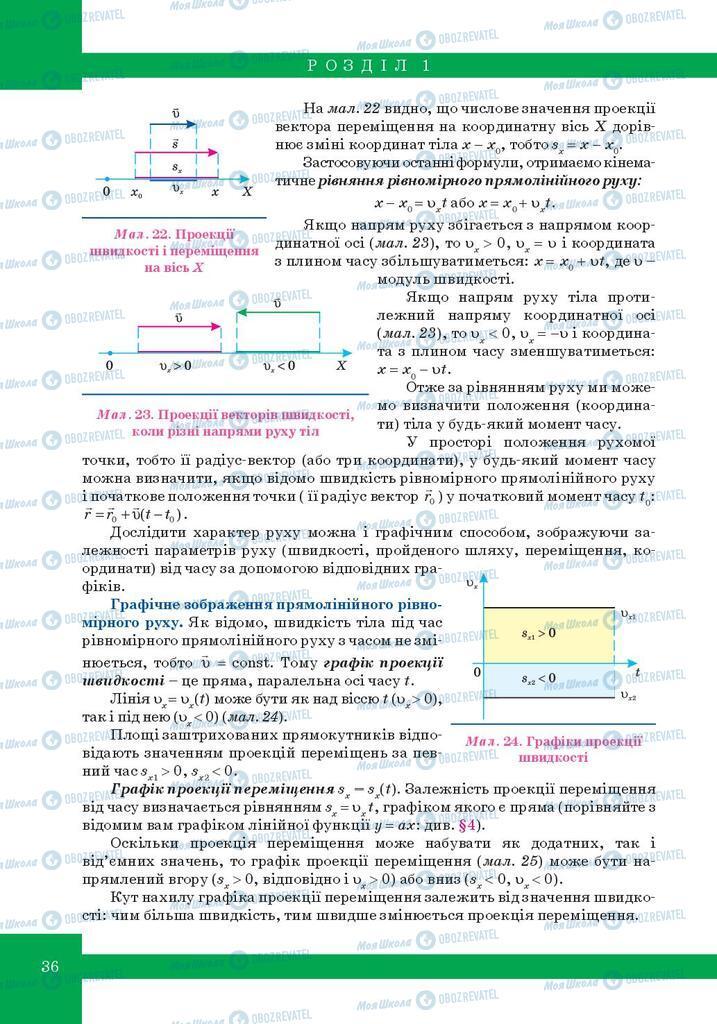 Учебники Физика 10 класс страница 36