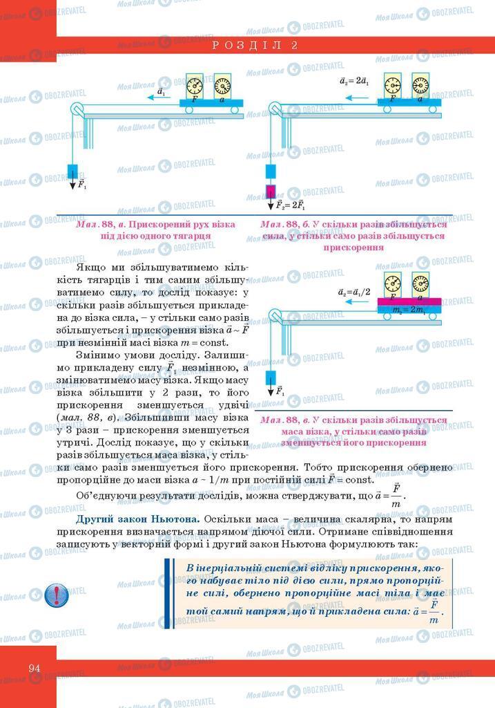 Учебники Физика 10 класс страница 94
