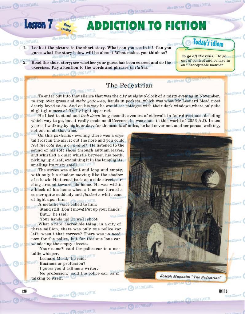 Учебники Английский язык 9 класс страница 128