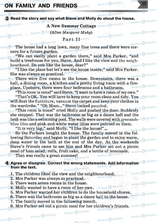 Учебники Английский язык 7 класс страница 35