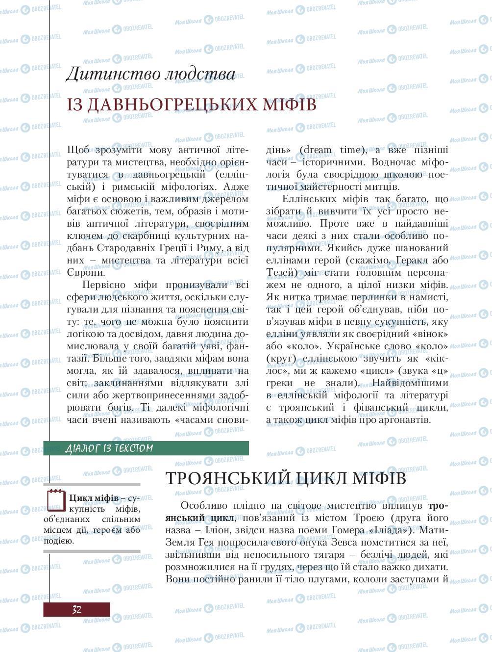 Учебники Зарубежная литература 8 класс страница 32