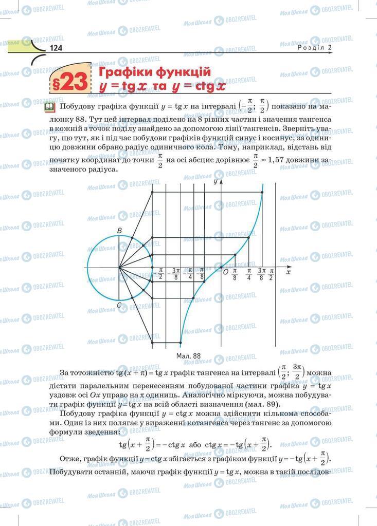Підручники Математика 10 клас сторінка 124