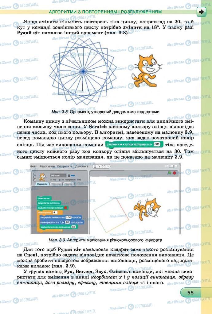 Учебники Информатика 7 класс страница  55