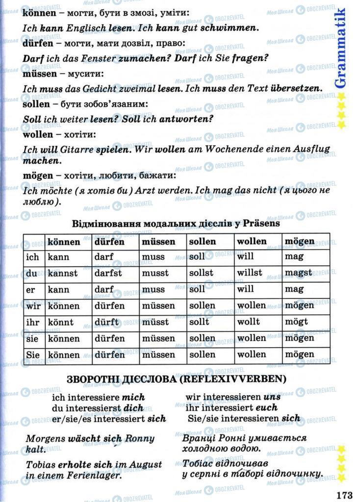 Учебники Немецкий язык 7 класс страница 173