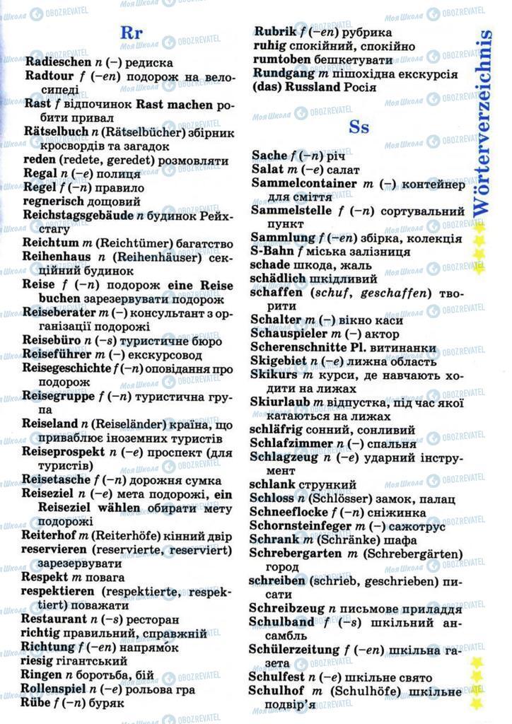 Підручники Німецька мова 7 клас сторінка 193