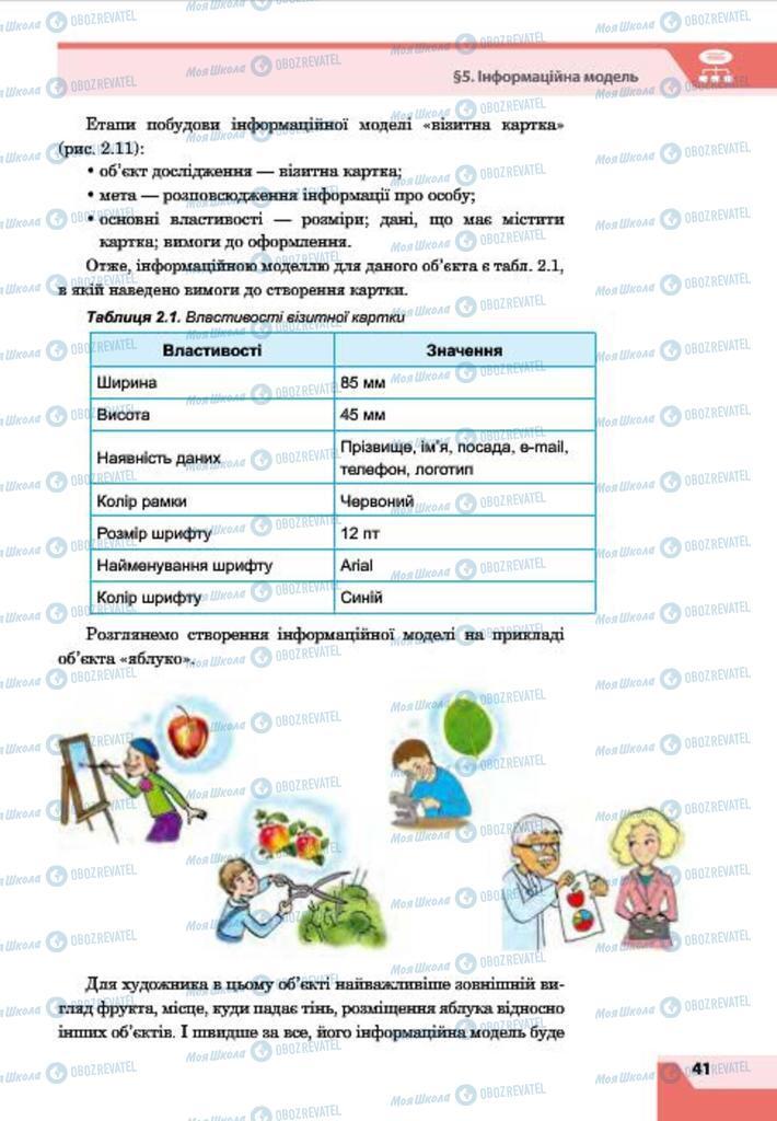 Учебники Информатика 7 класс страница 41