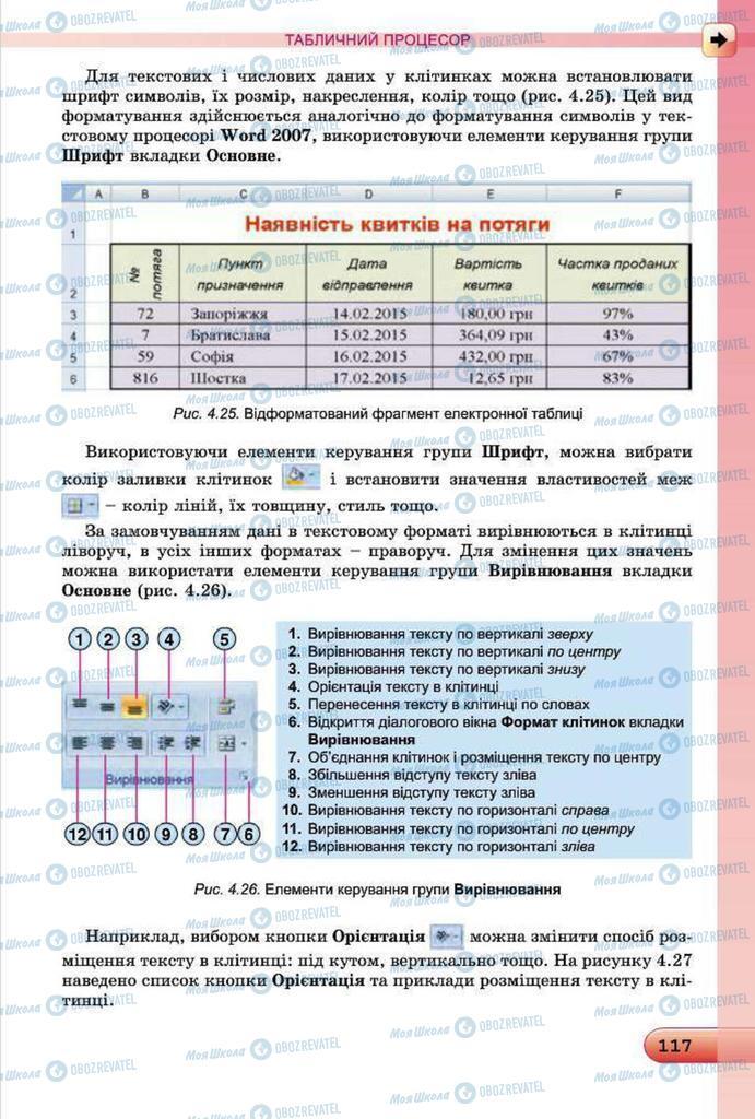 Підручники Інформатика 7 клас сторінка 117