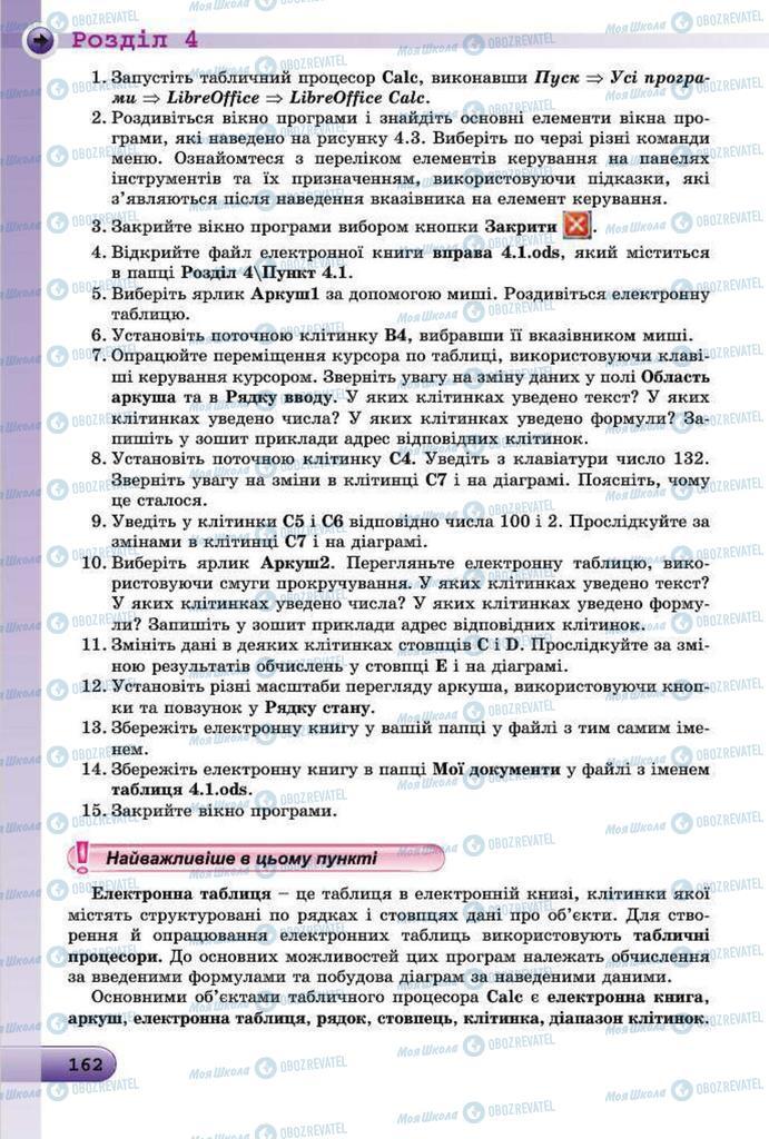 Учебники Информатика 7 класс страница 162