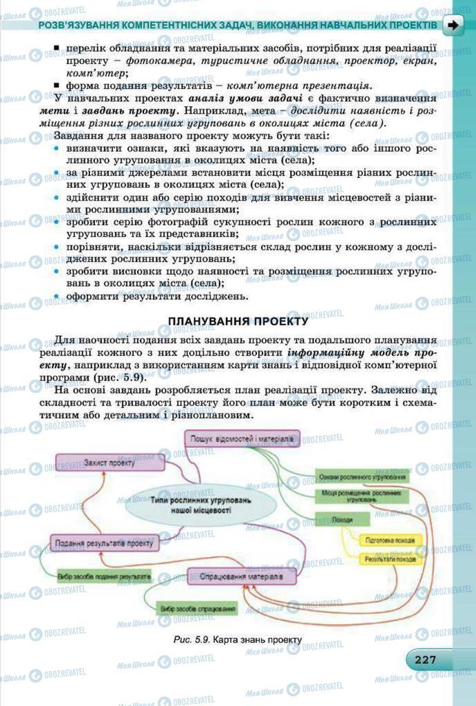 Підручники Інформатика 7 клас сторінка 227