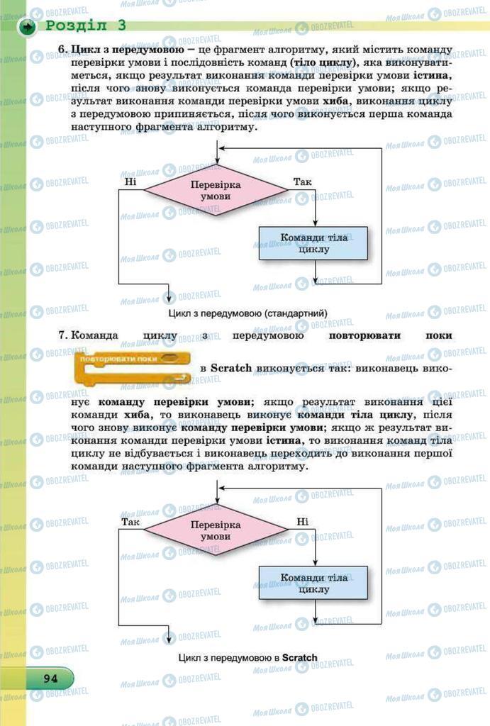 Підручники Інформатика 7 клас сторінка 94