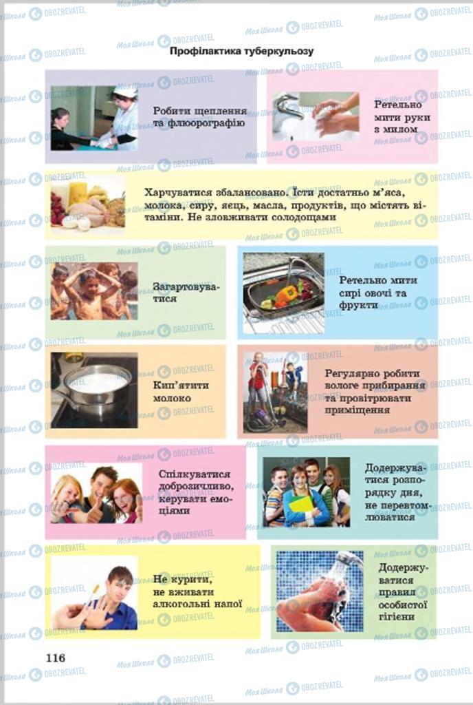 Учебники Основы здоровья 7 класс страница 116