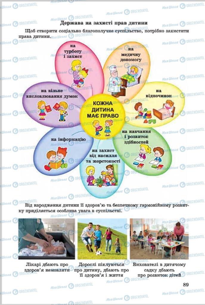 Підручники Основи здоров'я 7 клас сторінка 89