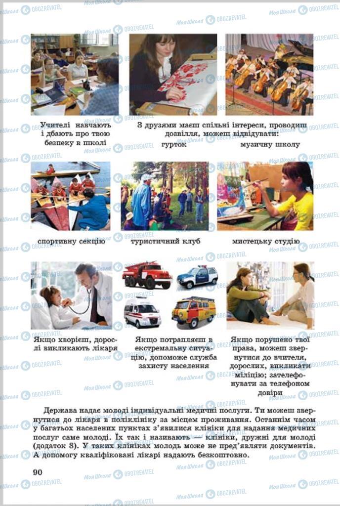 Учебники Основы здоровья 7 класс страница 90
