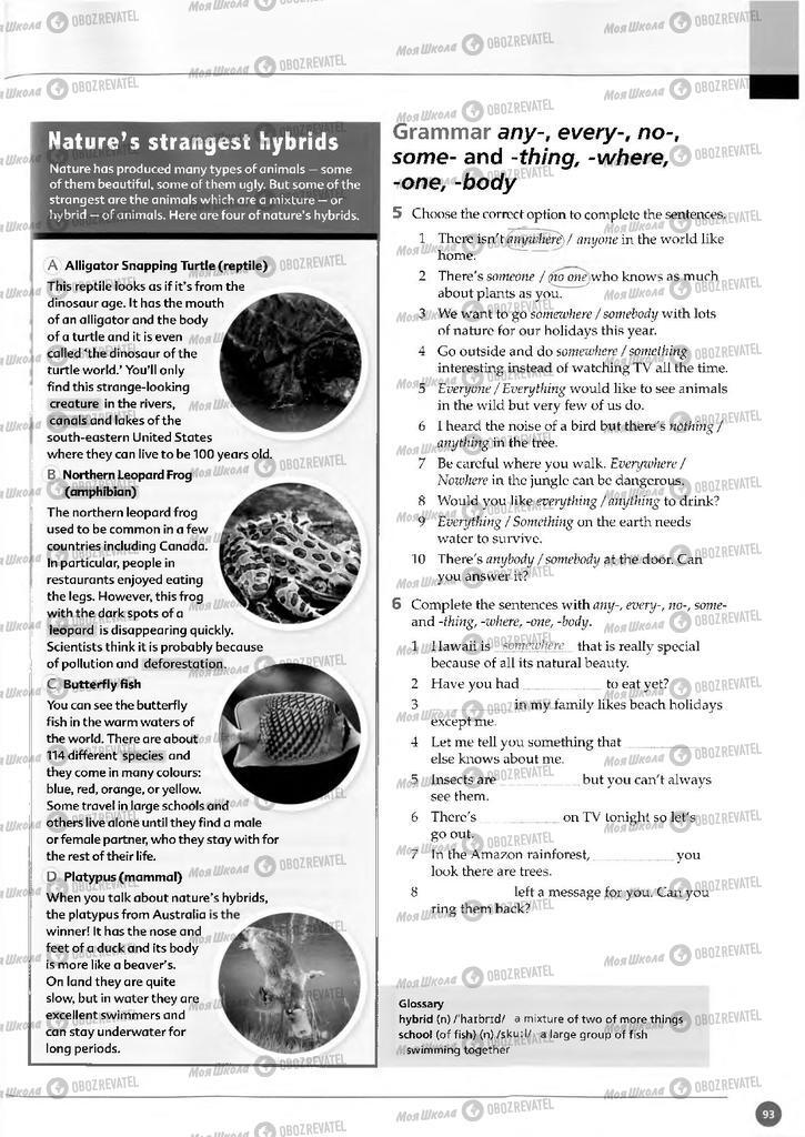 Підручники Англійська мова 11 клас сторінка  93