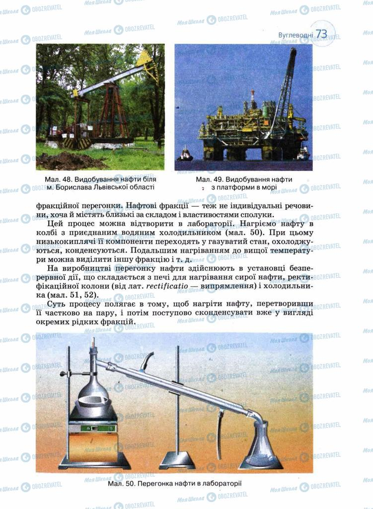 Учебники Химия 11 класс страница 73