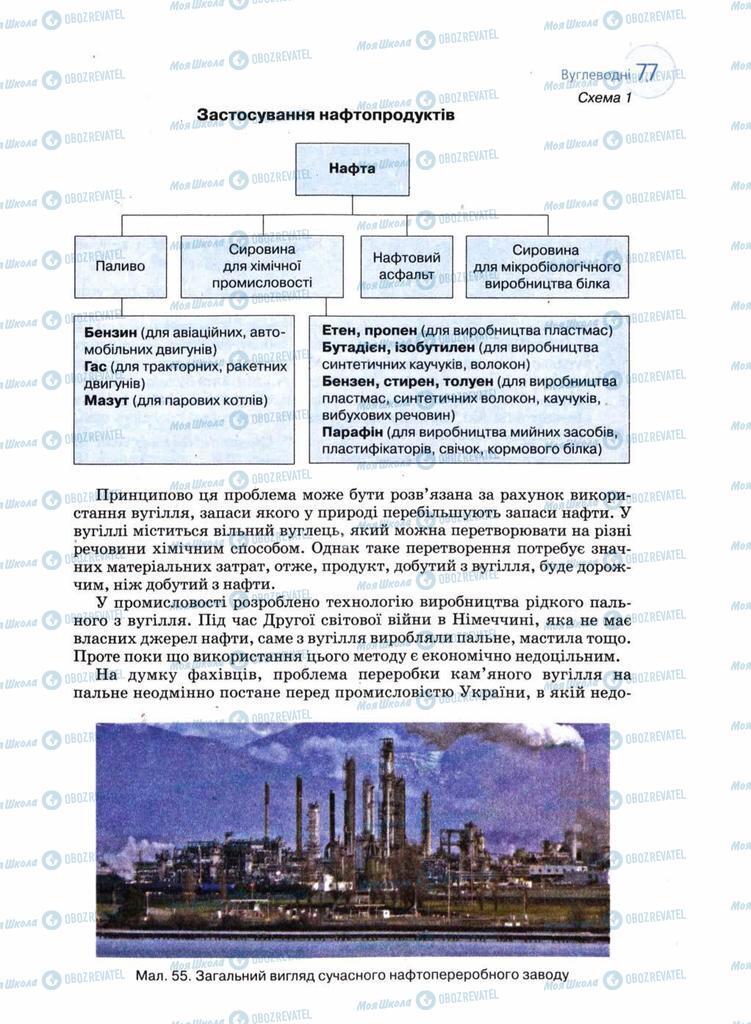 Підручники Хімія 11 клас сторінка 77