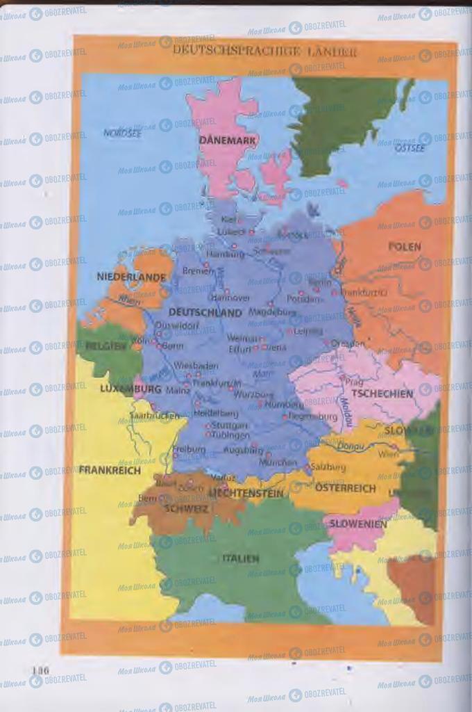 Підручники Німецька мова 11 клас сторінка 136