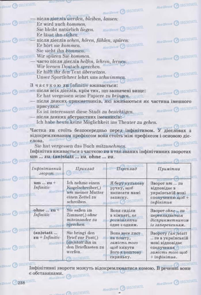 Підручники Німецька мова 11 клас сторінка 238