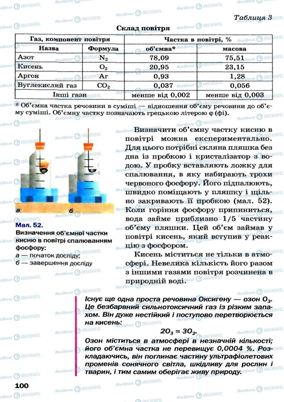 Учебники Химия 7 класс страница 100