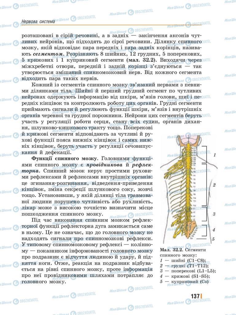 Учебники Биология 8 класс страница 137