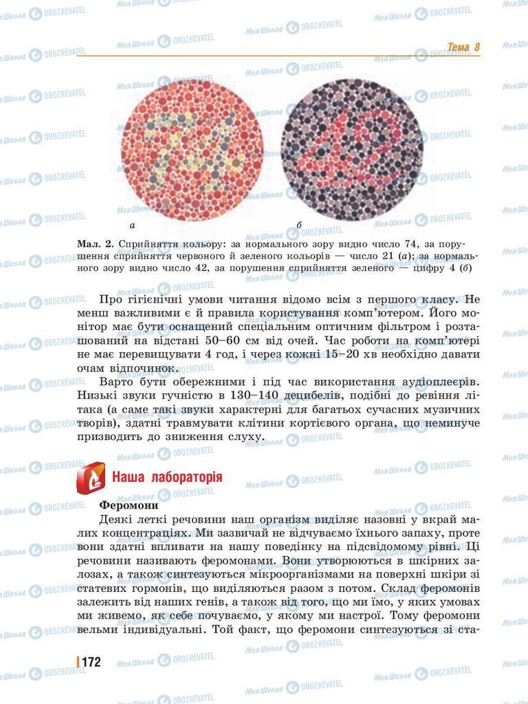 Учебники Биология 8 класс страница 172