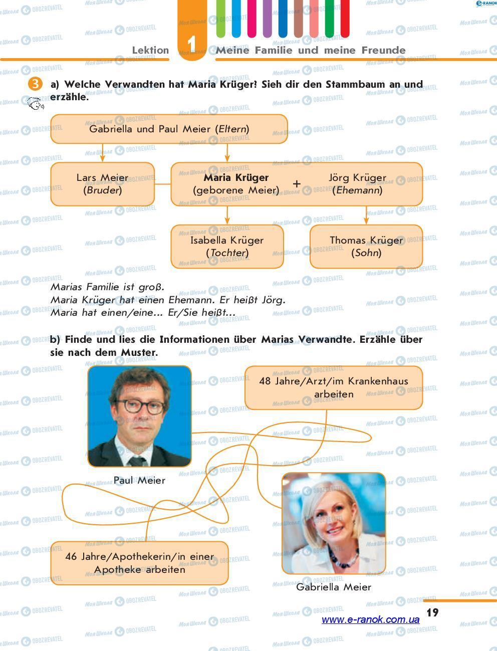 Учебники Немецкий язык 7 класс страница 19