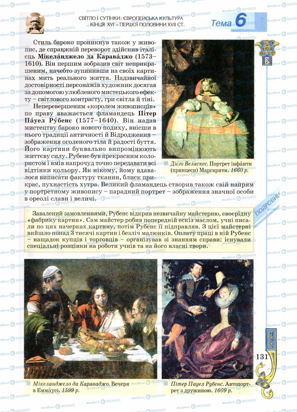 Підручники Всесвітня історія 8 клас сторінка 131
