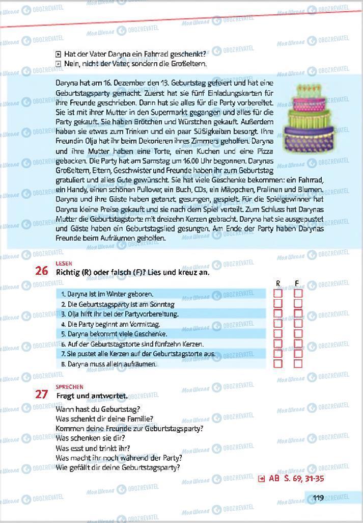 Учебники Немецкий язык 7 класс страница 119