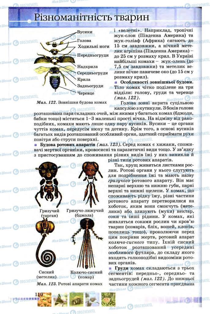 Учебники Биология 8 класс страница 110