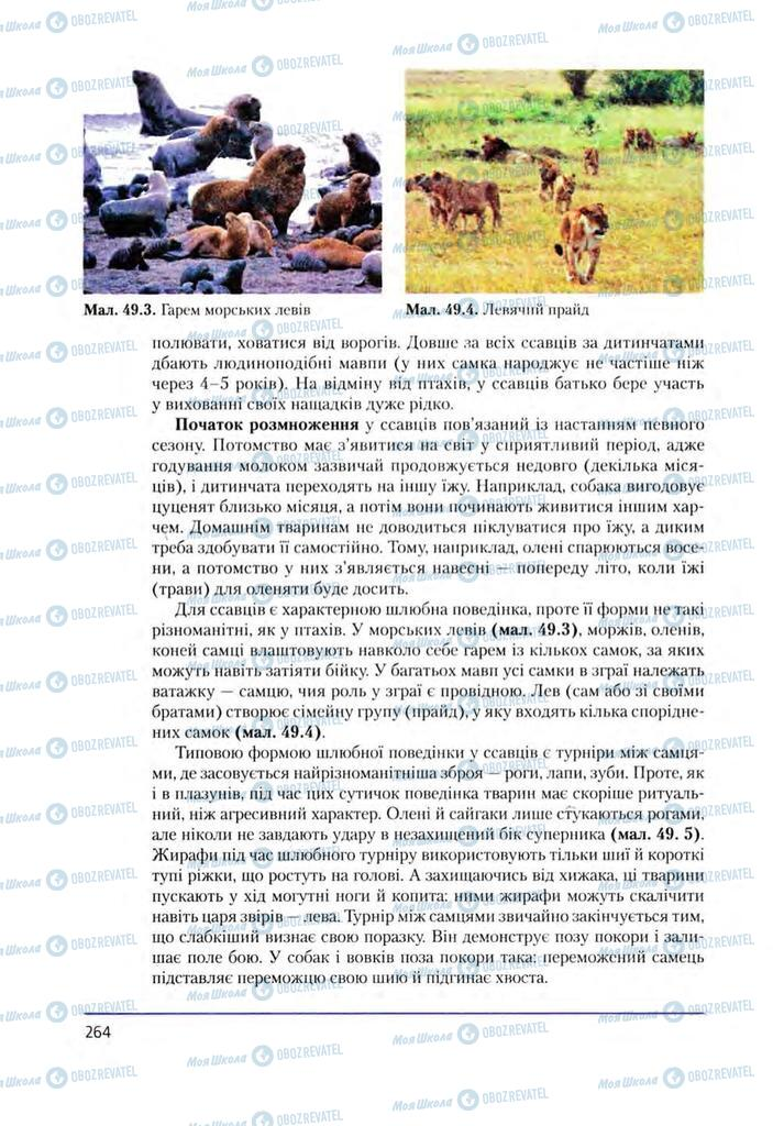 Учебники Биология 8 класс страница 264