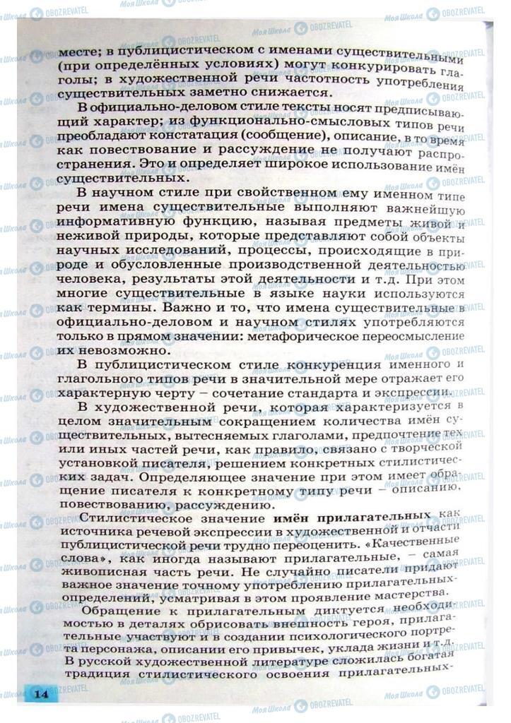 Учебники Русский язык 8 класс страница 14