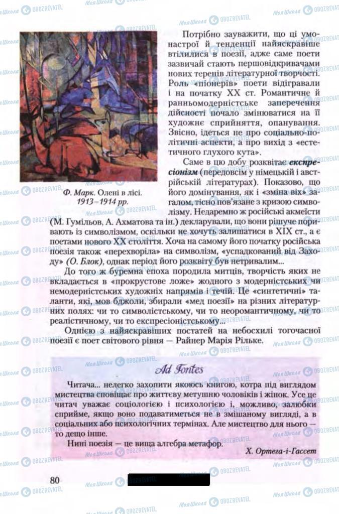 Учебники Зарубежная литература 11 класс страница 80