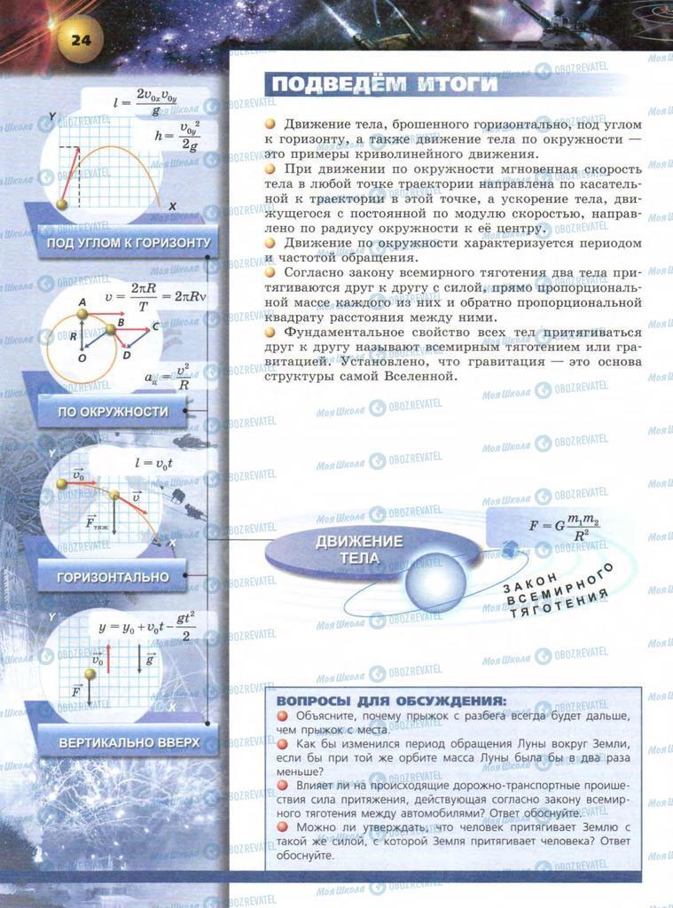 Учебники Физика 9 класс страница  24