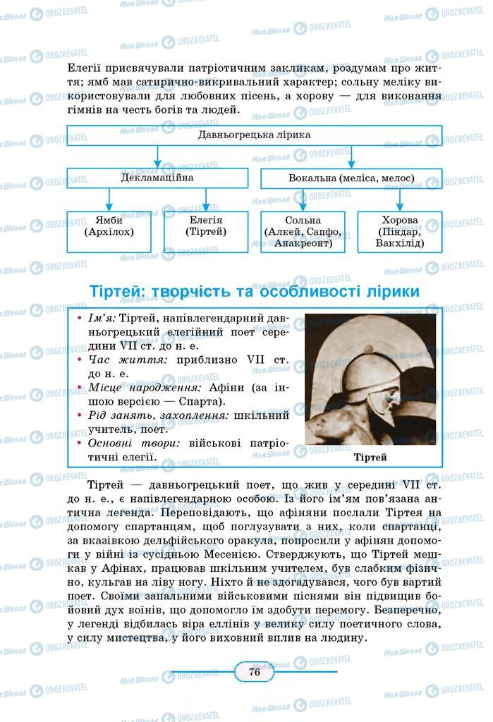 Учебники Зарубежная литература 8 класс страница 76