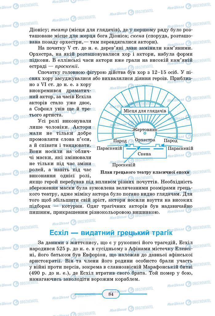 Учебники Зарубежная литература 8 класс страница 84