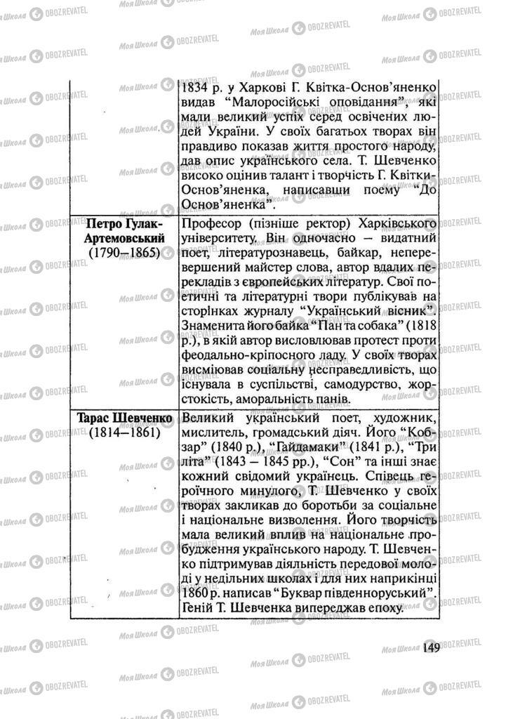 Учебники История Украины 9 класс страница 149