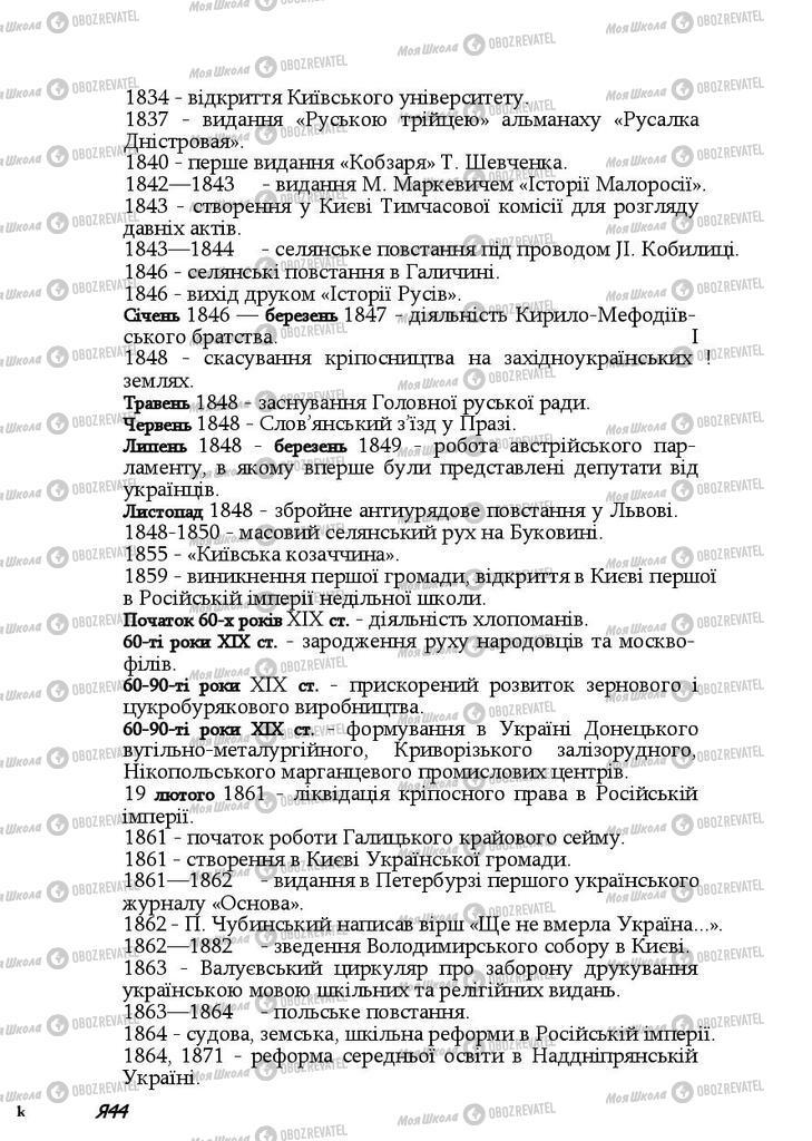 Підручники Історія України 9 клас сторінка 344