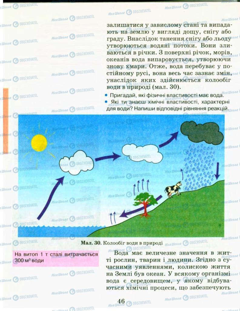 Підручники Хімія 9 клас сторінка 46