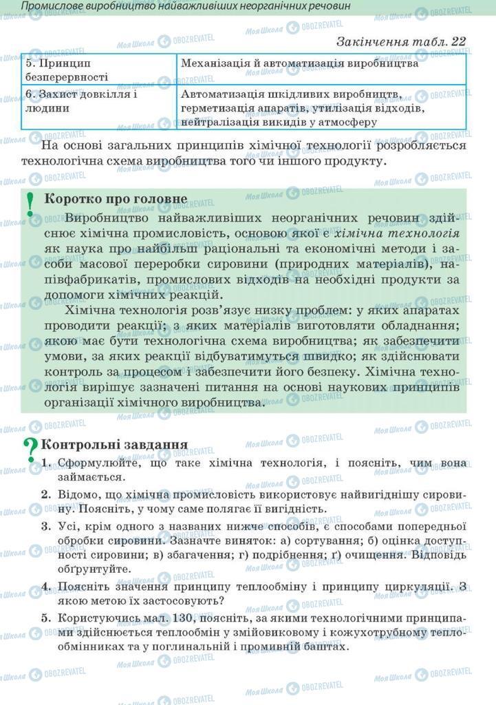 Підручники Хімія 10 клас сторінка 318