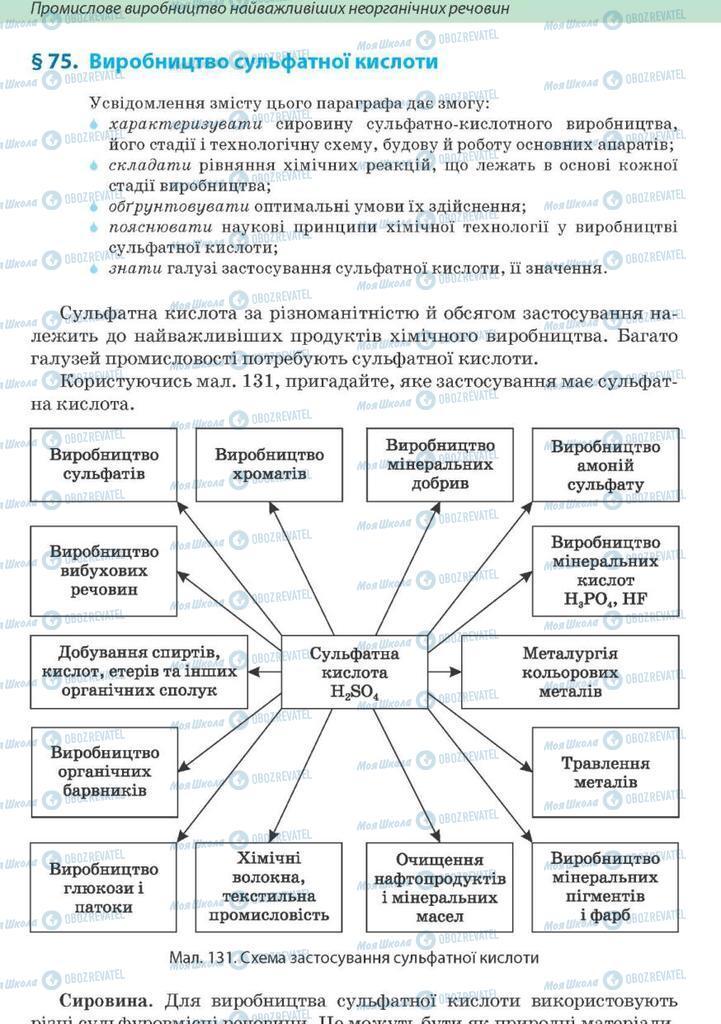 Підручники Хімія 10 клас сторінка 320