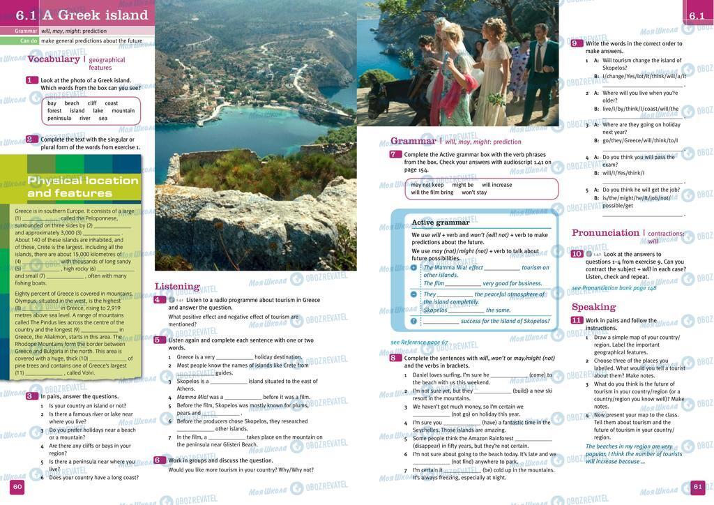Підручники Англійська мова 10 клас сторінка  60-61