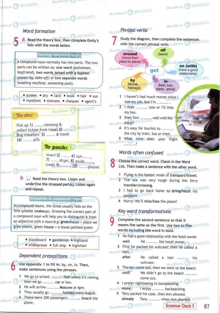 Підручники Англійська мова 10 клас сторінка  87